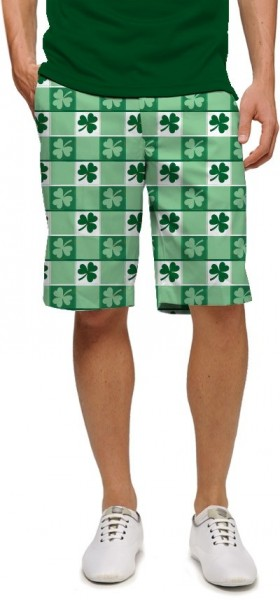 "Loudmouth Men's Golf Short ""Corned Beef StretchTech"""