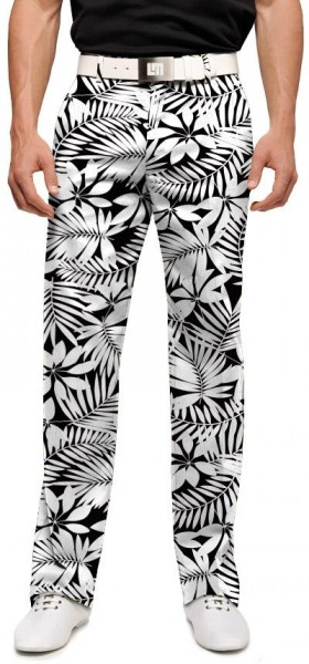 """Loudmouth Men's Golf Trousers """"Midnight Island"""""""
