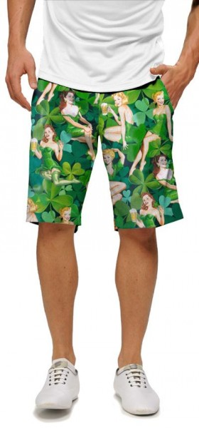 "Loudmouth Men's Golf Short ""Erin Go Bragh"""