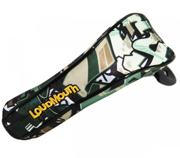 "PE Loudmouth Utility Headcover ""Tags Camo"" Design"