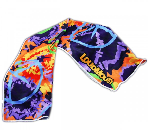 """Loudmouth Cooling Towel """"Woodystock"""""""