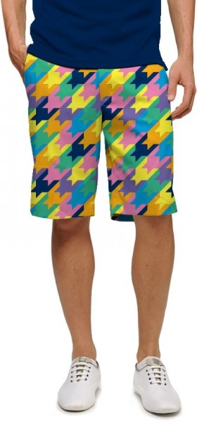 "Loudmouth Herren Short ""Peaches & Cream StretchTech"""