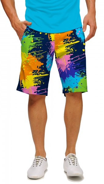 "Loudmouth Men's Golf Short ""Blasterpiece StretchTech"""