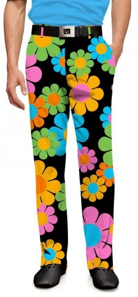 "Loudmouth Men's Golf Pants "" Magic Bus StretchTech"""