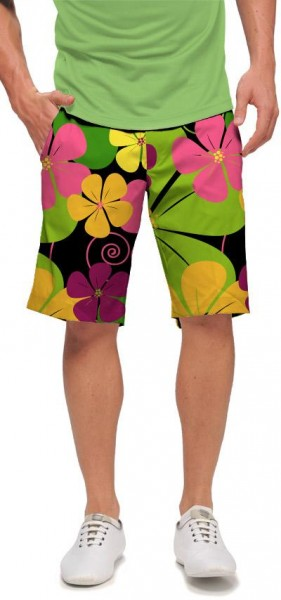 "Loudmouth Men's Golf Short ""Big Poppies"""
