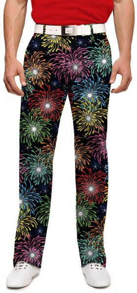 "Loudmouth Herren-Hose lang ""Grand Finale Stretch Tech"""
