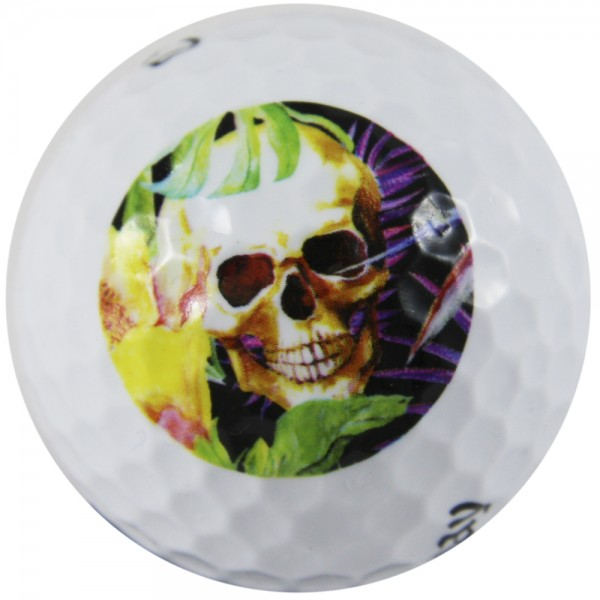 "LM ""Skull Grotto"" Design Golf Ball"