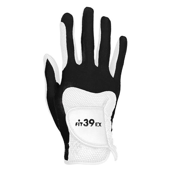Handschuh Fit 39 schwarz/weiß