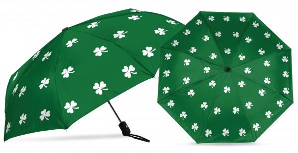 Loudmouth UV+ MINI Umbrella - Shamrock
