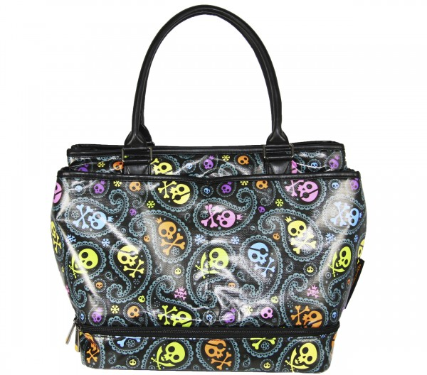 """Loudmouth Tote Bag """"Jolly Roger"""""""