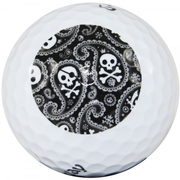 "LM ""Shiver Me Timber"" Design Golf Ball"