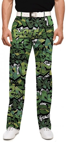 "Loudmouth Herren-Hose lang ""Golf Camo Stretch Tech"""