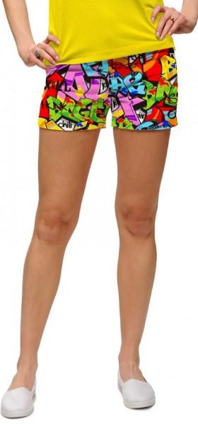"Loudmouth Woman Mini-Shorts ""Tags"""