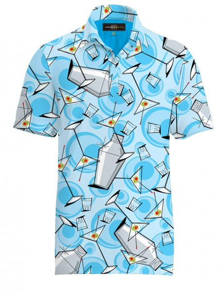 "Loudmouth Herren Fancy Polo ""Partini"""