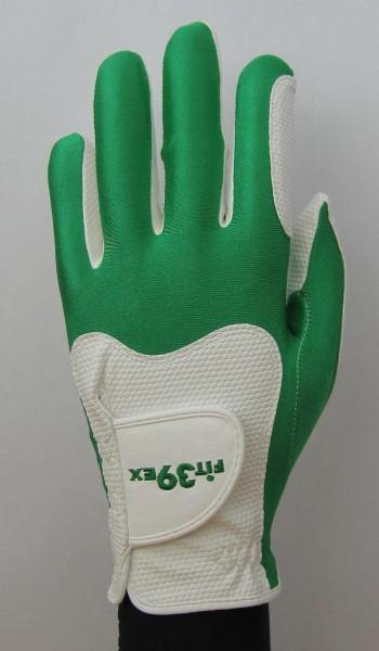 Handschuh Fit 39 Grün/Weiß