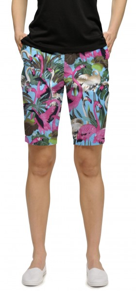 "Loudmouth Woman Short ""Pink Flamingos"""