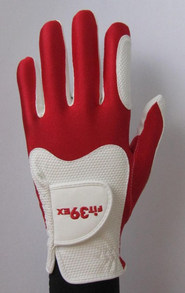 Golf Glove Fit 39 Red/White