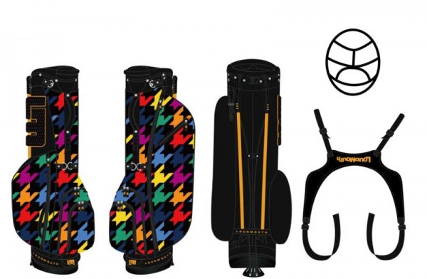 Loudmouth Stand Bag-Razzle Dazzle