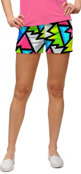 "Loudmouth Woman Mini-Shorts ""Crystal"""