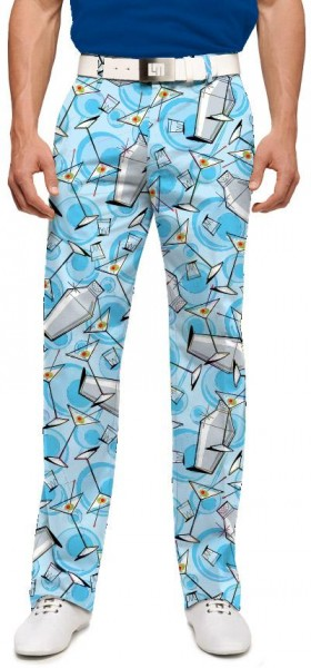 """Loudmouth Men's Golf Trousers """"Partini"""""""