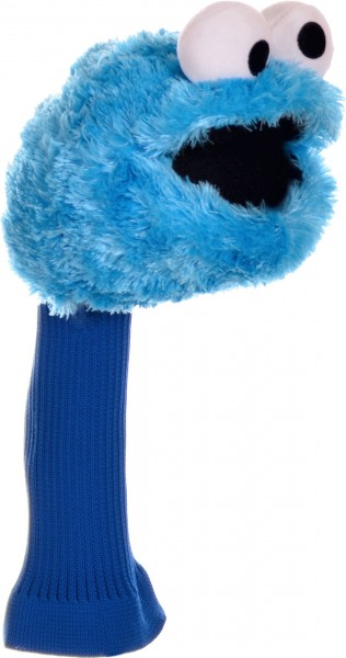 """Driver Headcover """"Cookie Monster from Sesame Street"""