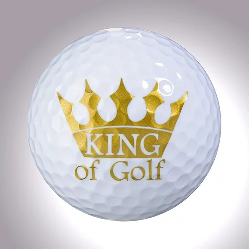 "magball-magnetic Deco-Golf Ball ""King of Golf"""