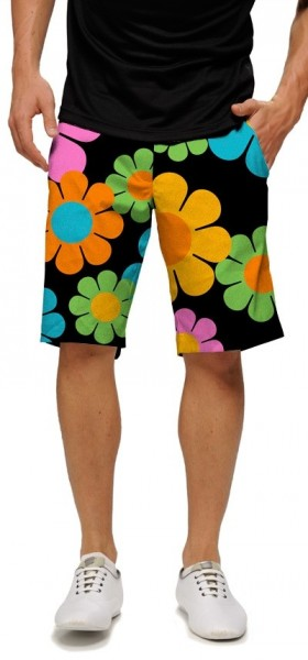 "Loudmouth Men's Golf Short ""Magic Bus StretchTech"""