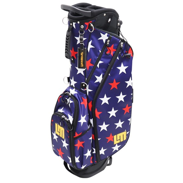 """NEW Loudmouth 8.5 inch Stand Bag """"Superstar Navy"""""""