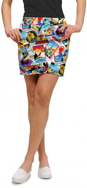 "Loudmouth Skort ""Postcards from the Wedge"""