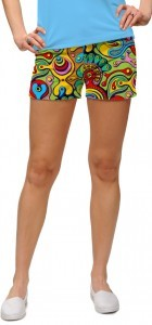 "Loudmouth Woman Mini-Shorts ""Fun House"""