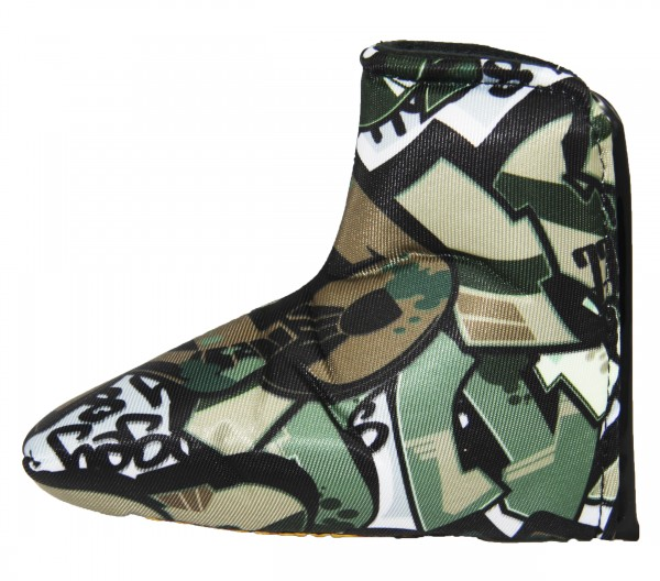 "Loudmouth Blade Putter Cover ""Tags Camo"""