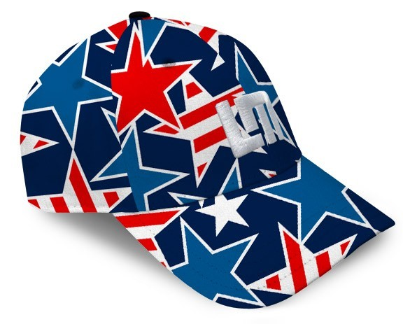 "Loudmouth All-Over Cap ""Star Studded"""