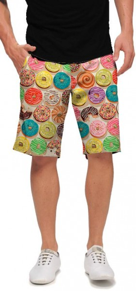 "Loudmouth Men's Golf Short ""Doughnuts"""