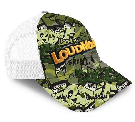 Loudmouth Golf Camo Trucker Cap