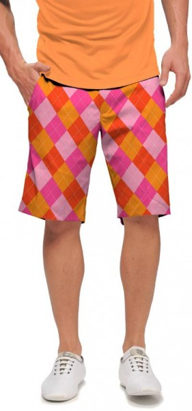 "Loudmouth Men's Golf Short ""Raspberry SureBet"""