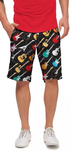 "Loudmouth Men's Golf Short ""Rockstar"""