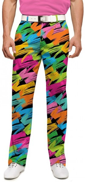"Loudmouth Men's Golf Pants "" Broad Strokes StretchTech"""