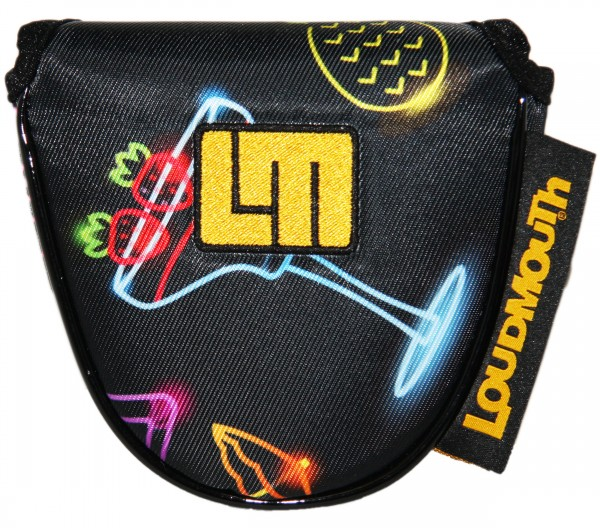 """Loudmouth Mallet Putter Cover """"Neon Cocktails"""""""