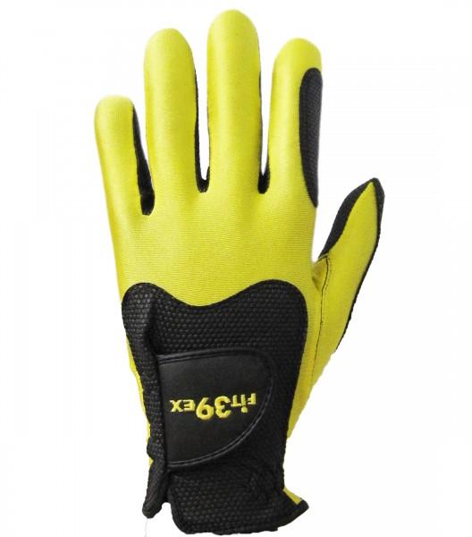 Handschuh Fit 39 Gelb/Schwarz