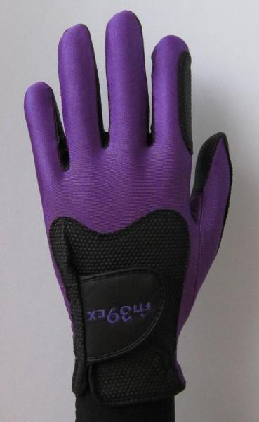Handschuh Fit 39 Violet/Schwarz