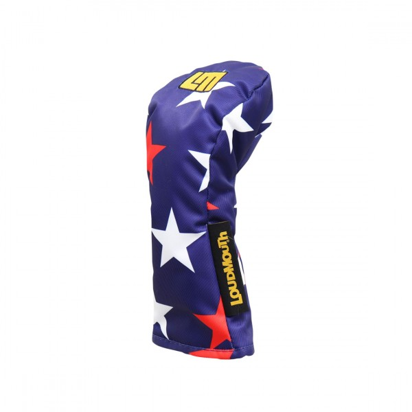 "Fairway Wood Headcover ""Superstar Navy"" Design"
