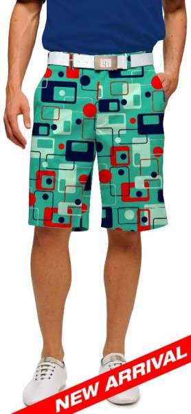 "Loudmouth Men's Golf Short ""8-Track"""