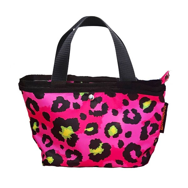Loudmouth Cart Pouch-Neon Cheetah Pink-