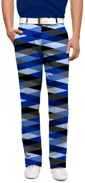 "Loudmouth Herren-Hose lang ""Fore Shades Of Blue"""