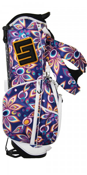 "NEW Loudmouth 8.5 inch Stand Bag ""Shagadelic Purple"""