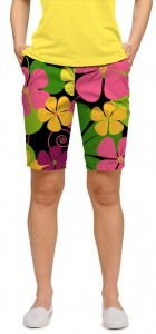 """Loudmouth Woman Short """"Big Poppies"""""""