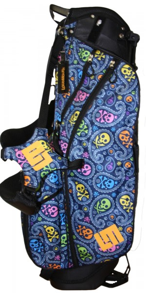 """NEW Loudmouth 8.5 inch Stand Bag """"Jolly Roger"""""""