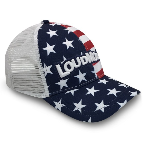"Loudmouth Trucker Cap ""Stars & Stripes"""