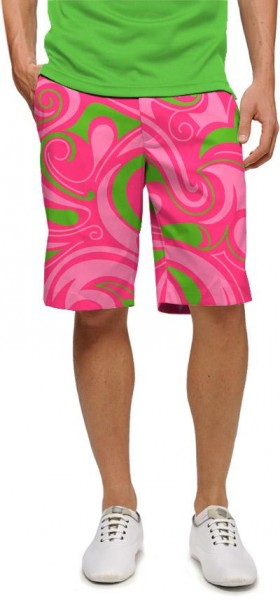 "Loudmouth Men's Golf Short ""Cotton Candy"""