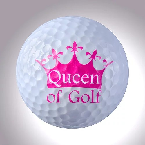 """magball-magnetic Deco-Golf Ball """"Queen of Golf"""""""